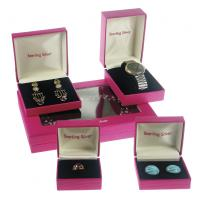 Buy cheap Personalised Packaging Art Paper Cardboard Jewellery Gift Boxes For Ring / Watch from wholesalers