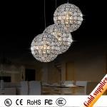 china supplier round glass ball chandelier