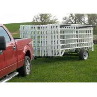 Buy cheap Green Pvc coated 38MM OUT Frame Pipe With 6 Rail Horse Fence Yard Panel product