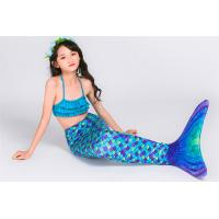 Buy cheap Customized Design Children's Swimming Mermaid Tail Blue Purple Color product