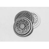China Professional deep drawn metal pressings parts speaker grille with white coating on sale
