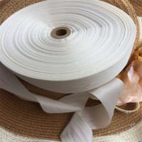 Buy cheap 36mm undyed 100% pure silk embroidery ribbon,silk ribbon,embroidery ribbon,pure silk ribbno,silk satin ribbon,100% silk product