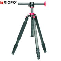 Buy cheap TRIOPO GX-258 TRIOPO carbon horizontal swivel camera tripod with red,blue,gold,sliver,black etc product