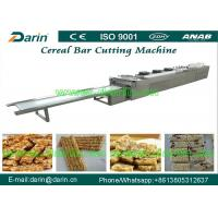 Buy cheap Automatic stainless steel cereal bar making machine , sesame candy bar cutter machine product