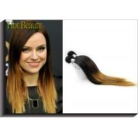 Buy cheap Silky Straight Ombre Remy Human Hair Extensions With Model Show Wedding Party Meeting product