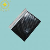 China Custom Logo Printed Express Shipping Envelope Aluminum Bubble Envelope Padded Bag on sale