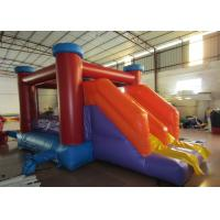 Buy cheap Classic inflatable jumping house PVC inflatable bouncy with slide Simple inflatable bouncy for family use product