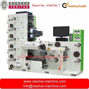 China 6 Colors Automatic Label Flexo Printing Machine Fast Speed 50m-60m/min on sale