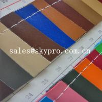 Buy cheap Customized New Style PVC Synthetic Leather For Sofa Bag With Polyester Backing product