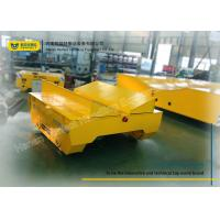 Buy cheap Transferring Electric Transfer Cart Steel Coil Mill Rail Car 20T Capacity product