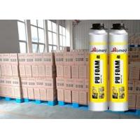 Quality 750ml Winter PU Foam Sealant / Polyurethane Foam Spary Ambient Temperature Heat / Cold Resistant for sale