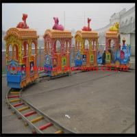 Buy cheap Amusement Park Big Elephant Track Train Rides for Kids product