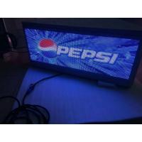 Buy cheap Three sided digital top Taxi LED Display surpport USB/3G/WIFI , Steel / Aluminum Material from wholesalers