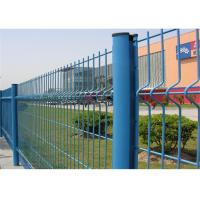 China 200*50mm 3D Curved Wire Mesh Fence Panels For Road And Transit , Longlife on sale