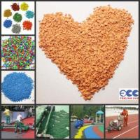 Buy cheap Epdm Granules/colored Epdm Chips/rubber Granules For Artificial Grass product
