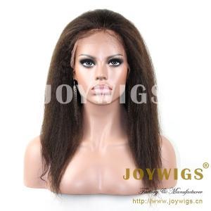Buy cheap 2013 Top fashion Hot sale best quality 100% Brazilian virgin human hair kinky twist wigs product