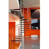 Buy cheap Stainless Steel Rod Railing Wood Loft Staircase product