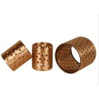 Buy cheap Self Lubricating Thin Wall CuSn8P Bronze Perforated Bushings product