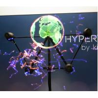 Buy cheap Holographic Display 3D Hologram LED Fan  Player For Advertising from wholesalers