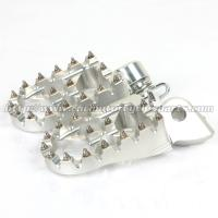 Buy cheap Customized Dirt Bike Foot Pegs With Super Aggressive High Tempered Steel Teeth product