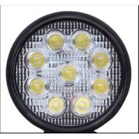 China CE RoHS round led work light for off road car , SUV , Jeep / IP67 24W car led light bar wholesale