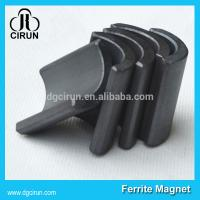 Buy cheap Y30BH Grade Ferrite Arc Magnet For Water Pumps , Strong Hard Ferrite Magnets product