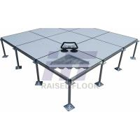 Buy cheap Accurate Dimension Removable Raised Access Flooring Low Air Leakage Rate product