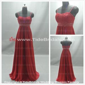 Buy cheap Vestido vermelho do baile de finalistas do vestido da dama de honra que nivela dress#ASF1 product