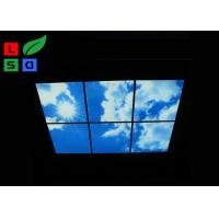 Buy cheap Custom Design LED Shop Display Blue Sky LED Flat Panel Light For Ceiling Decoration product