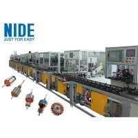 Buy cheap High Effieciency Rotor Winding Machine Rotor Manufacturing Assembly Line product