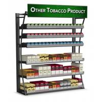 Buy cheap 4FT LP 480 Packs Cigarette Display Rack Tobacco Fixtures Powder Coated Frame product