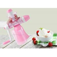 Buy cheap Handmade Flavored Fruit Ice Cream Maker Hand Crank Non Electric Juice Machine product