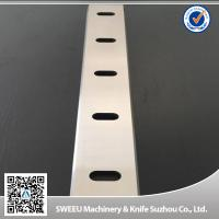 Quality PP PVC Cutting Blade For Plastic Crusher Machine HRC 56-58 Hardness for sale