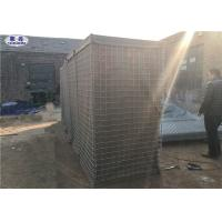 China Welded Wire Mesh Gabion Box Bastion Sand Filled Type Beige Geotextile Cloth on sale