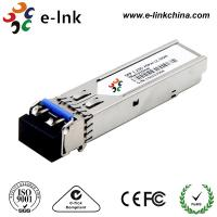 Buy cheap 1000base LX / LH SFP Optical Transceiver Module Cisco Compatible 1310nm Wavelength product