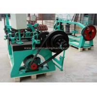 Buy cheap Agriculture Automatic Barbed Wire Manufacturing Machine With Electro Galvanized Wire product