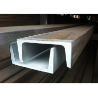Buy cheap 430 Stainless Steel Channel Cold Rolled With Well Mechanical Capacity product