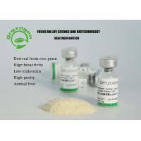 Buy cheap White Lyophilized Insulin Like Growth Factor 1 IGF 1 Non - Animal Component product