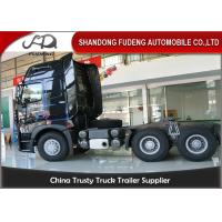 Buy cheap Howo A7 Tractor Head Trucks With One Beth 10 Wheerler 420 Horse Power product