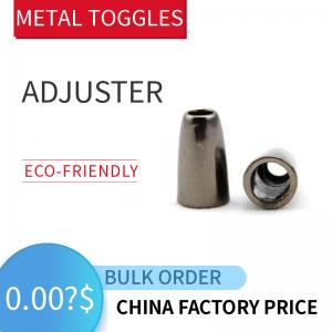 Buy cheap Metal Cord Stoppers For Apparel Silver & Brass product