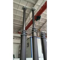 China 15m LED high lighting mast-15m telescopic mast-15m pneumatic telescopic mast wholesale