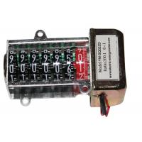 Buy cheap Mechanical Stepper Motor Counter Register & Electromagnetic Counter For kWH Energy product