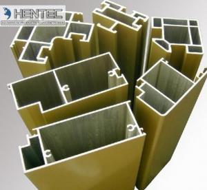 Buy cheap 6061 la voladura de arena de T5 T6 T66, puerta de aluminio del satén perfila ROHS/la aprobación product