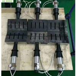 Buy cheap High Speed Ultrasonic Welding Machine , Mask Ultrasonic Spot Welder 15Khz 2600W product