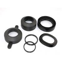 High temperature molded rubber gaskets with