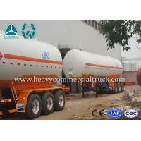Buy cheap Low Fuel Consumption Aluminium LPG Semi Trailer Customized Design product