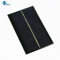 Buy cheap 6V 1.1watt Silicon Solar PV Module Solar Photovoltaic Panel ZW-11065 Easy Carrying cheapest solar panel for phone charge product