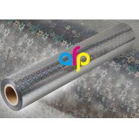 China Holographic Metalized BOPP Film , BOPP Transparent Film Roll For Packing on sale