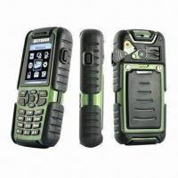 Buy cheap GSM Quadband Outdoor Waterproof Cell Phone and 2-way Walkie Talkie in Rugged Design product