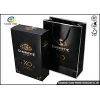 Buy cheap Drawer Type Paper Wine Box Excellent Scratch Resistance For Hennessy X.O product
